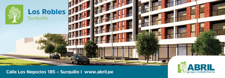 departamento surquillo robles abril grupo inmobiliaria